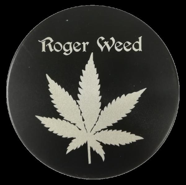 Grinder Roger Weed Nero