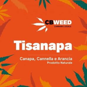 CBWeed Tisanapa Canapa, Cannella e Arancia 25g