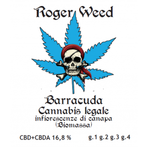 Roger Weed Barracuda 1g
