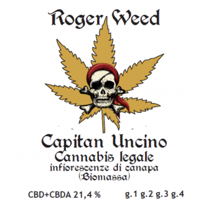 Roger Weed Capitan Uncino 1g