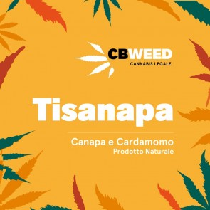 CBWeed Tisanapa Canapa e Cardamomo 25g