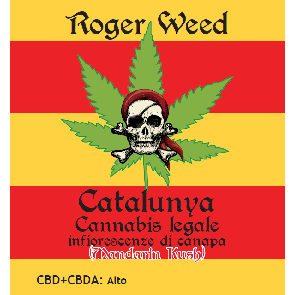 Roger Weed Catalunya - Mandarin Kush CBD Alto 1g