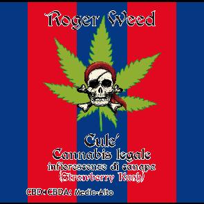 Roger Weed Culè - Strawberry Kush CBD Medio-Alto 1g
