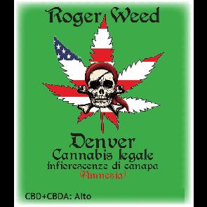 Roger Weed Denver - Amnesia CBD Alto 1g
