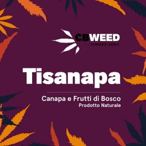 CBWeed Tisanapa Canapa e Frutti di Bosco 25g