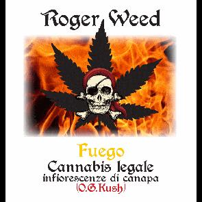 Roger Weed Fuego – O.G. Kush CBD Alto 1g