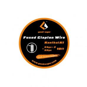 Geek Vape Clapton Kanthal A1 24ga*2+32ga 10ft