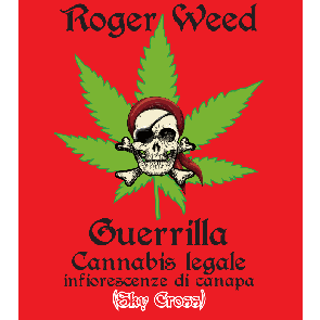Roger Weed Guerrilla – Sky Cross CBD Alto 1g