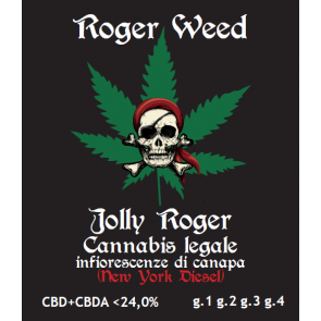 Roger Weed Jolly Roger 2g