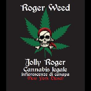 Roger Weed Jolly Roger - New York Diesel CBD Alto 1g
