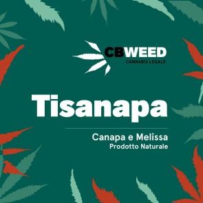 CBWeed Tisanapa Canapa e Melissa 25g