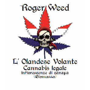 Roger Weed Olandese Volante - Cookies CBD Medio-Alto 1g