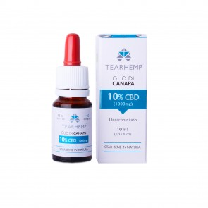 Ecohemp Tearhemp Olio di Canapa 10% - 10ml