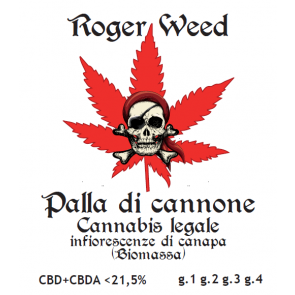 Roger Weed Palla di Cannone