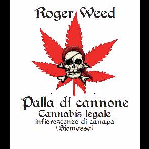 Roger Weed Palla di Cannone - Bubblegum CBD Alto 1g