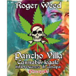 Roger Weed Pancho Villa – Pineapple CBD Alto 1g