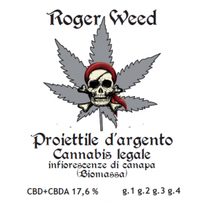 Roger Weed Proiettile d'Argento 1g