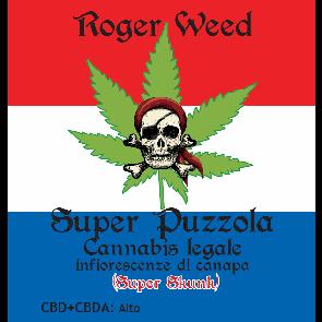 Roger Weed Super Puzzola - Super Skunk CBD Alto 1g