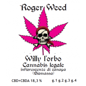Roger Weed Willy l'Orbo 2g